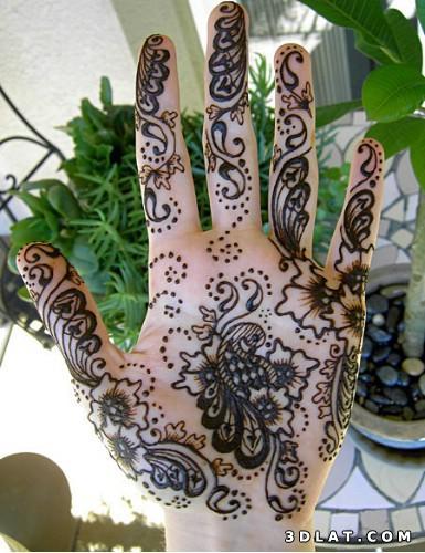 اجمل نقوش الحناء للعروسة
