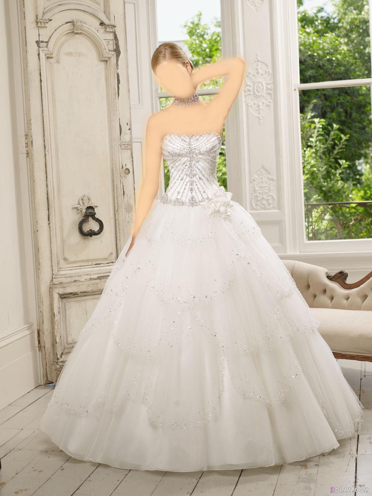 فساتين زواج 2021 فستاين زواج تحفة للعرائس