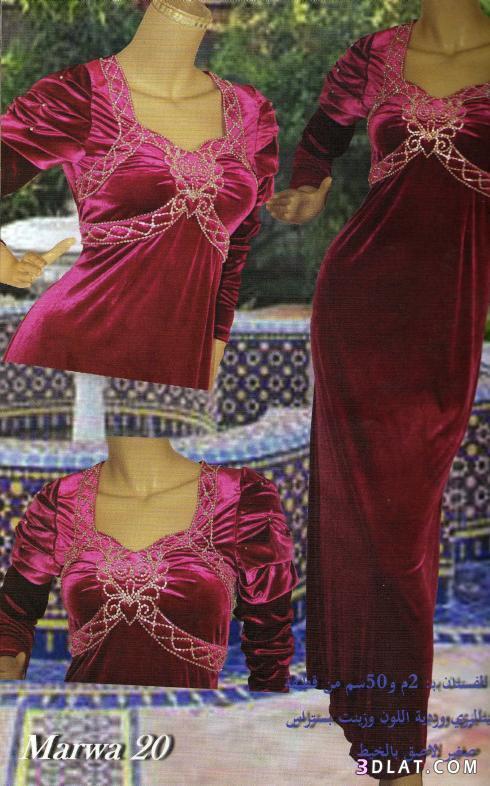 اجمل الفساتين الجزائرية 2012 احلى