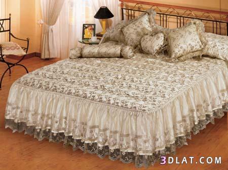 اجمل مفارش السرير للعرائس في العالم