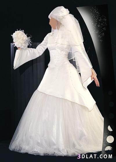 فساتين زفاف للمحجبات 2021 - فساتين عروس 2021 جديدة - فساتين افراح 2021