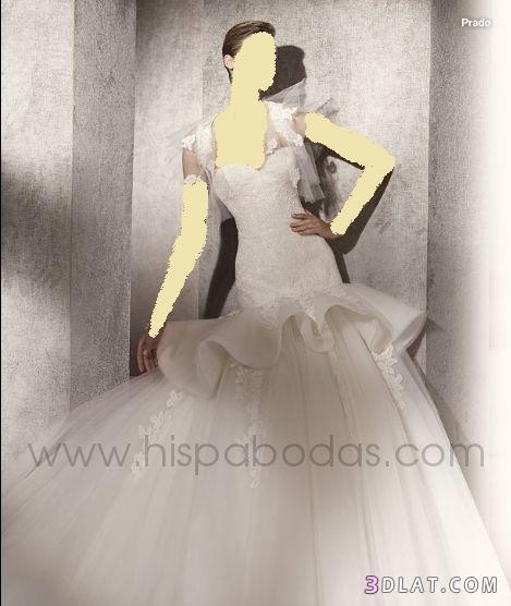 فساتين الزفاف من المصمم الاسباني manuel mota  فقط للعرائس الجزائر