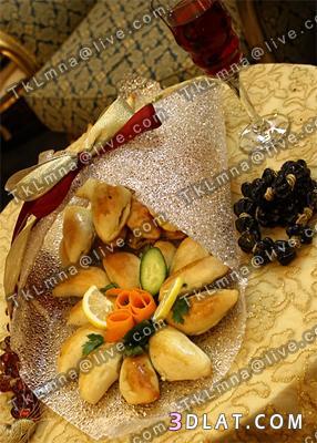 اطباق وصوانى جميله للتقديم للعروسه