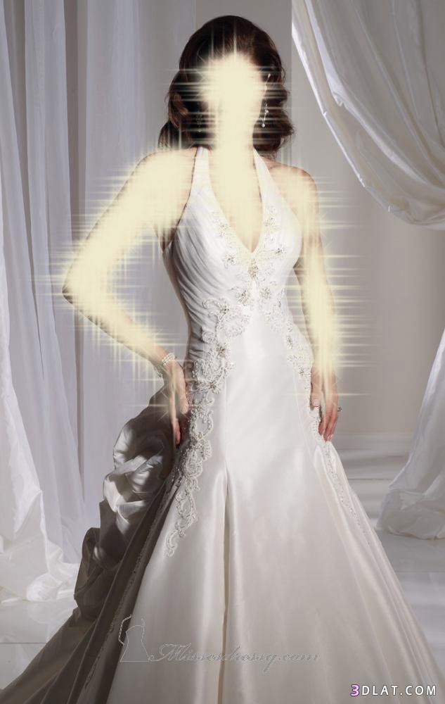 فساتين زفاف رقيقة