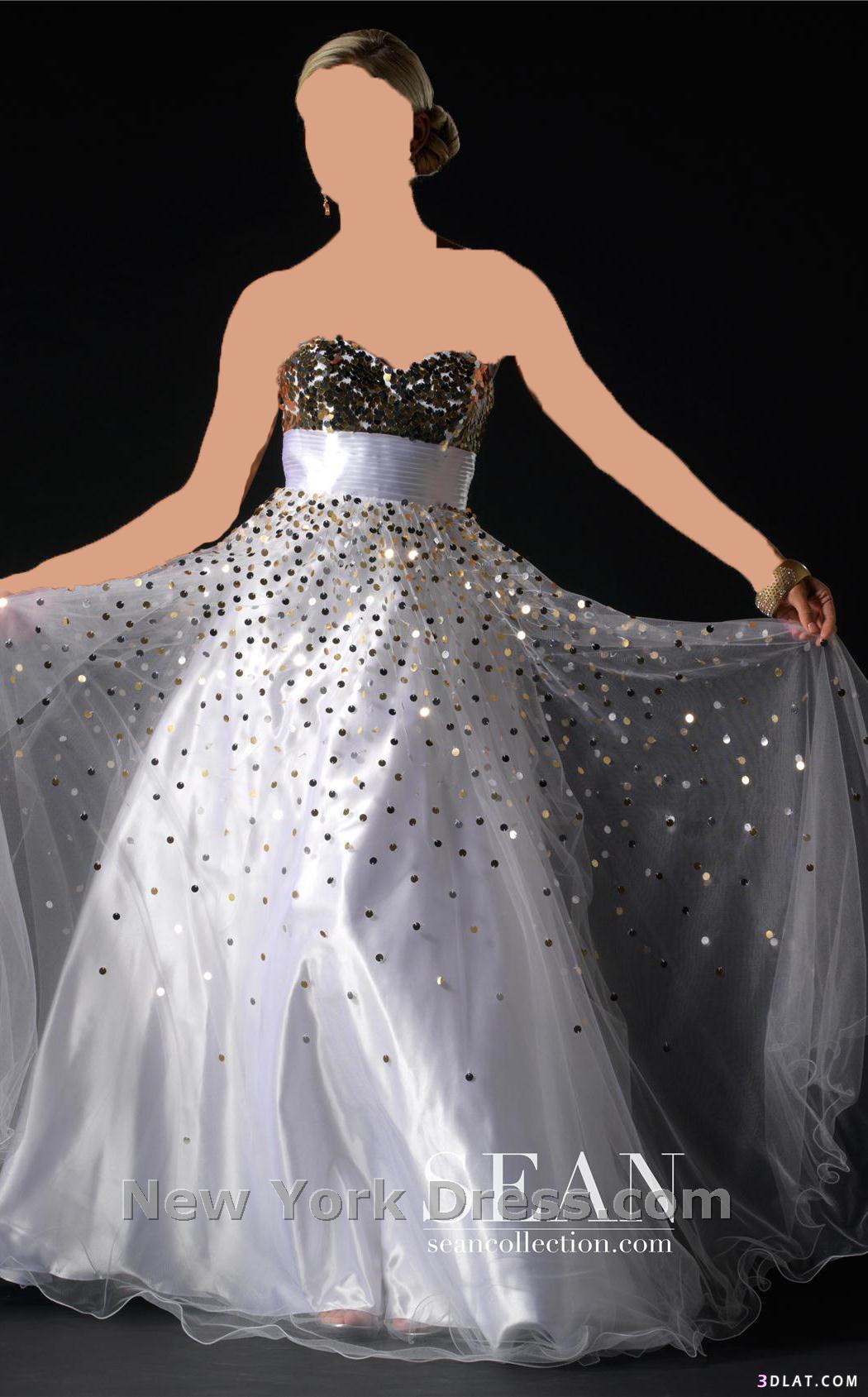 فستان لكتب الكتاب تعالي و اختاري