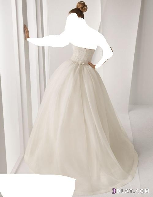 فساتين زفاف ناعمه2019