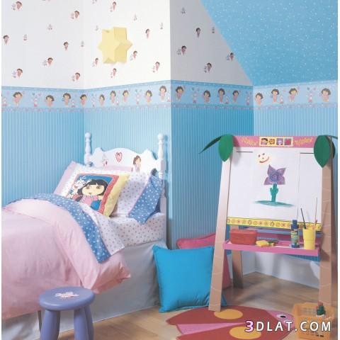 : بويات غرف نوم اطفال اولاد : اطفال
