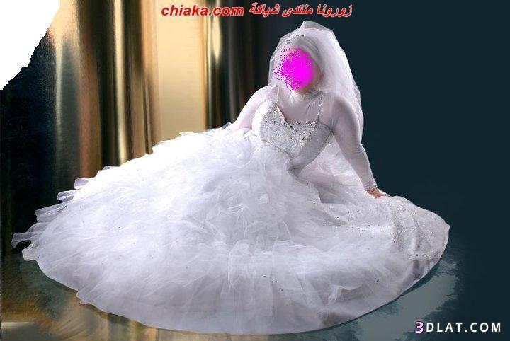 فساتين زفاف محجبات 2021
