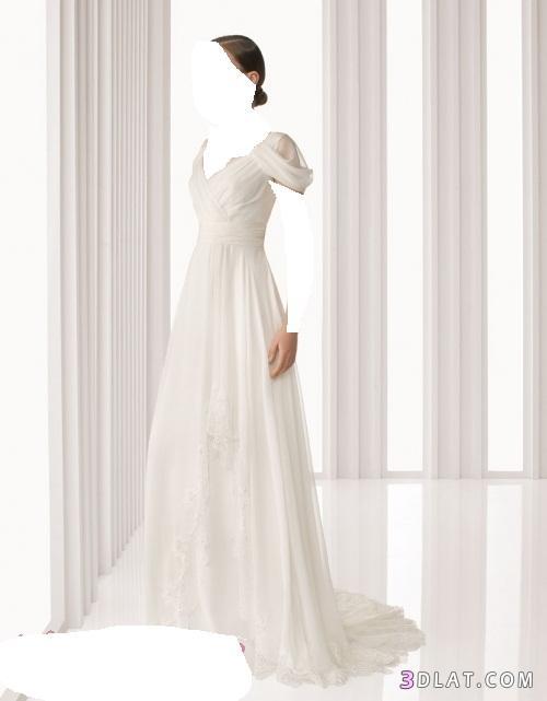فساتين زفاف انيقه- فساتين زفاف ناعمه