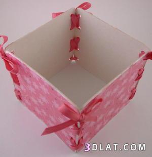 طريقة عمل صندوق للاغراض