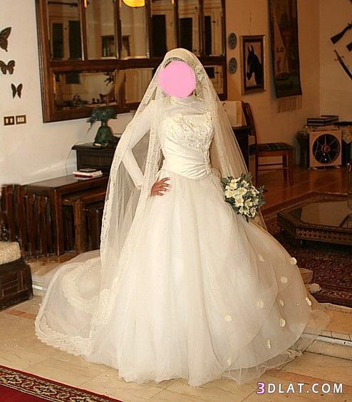 فساتين زفاف للمحجبات