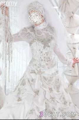 أجمل الفساتين للمحجبات - فساتين خطوبة 2021  للمحجبات