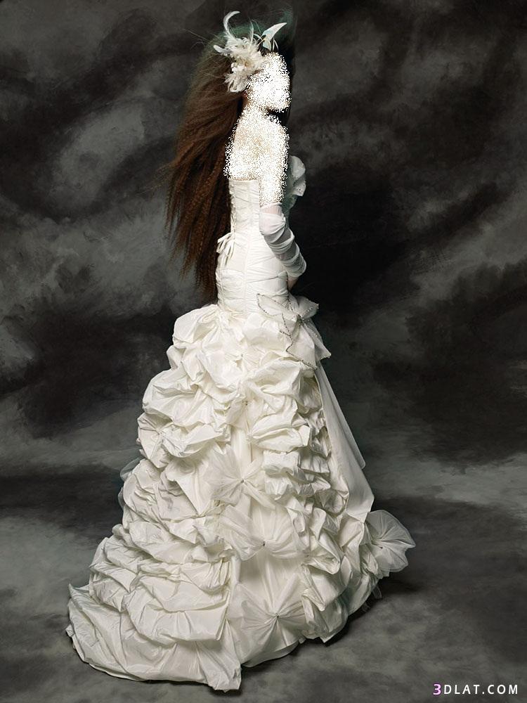 فساتين زفاف بتصميمات جديده