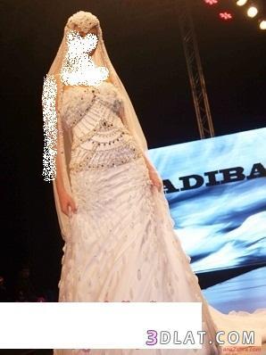 أزياء المصممه العالميه اديبا المحبوب لفساتين الزفاف
