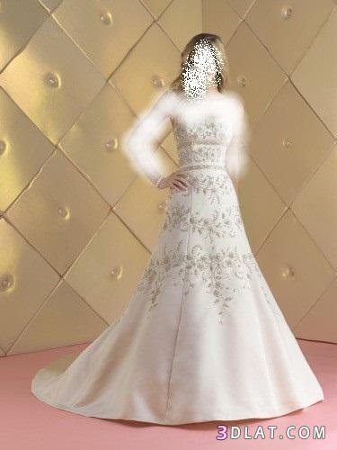 فساتين زفاف جديده مميزه 2021