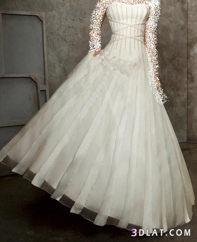 فساتين زفاف قمه الجمال