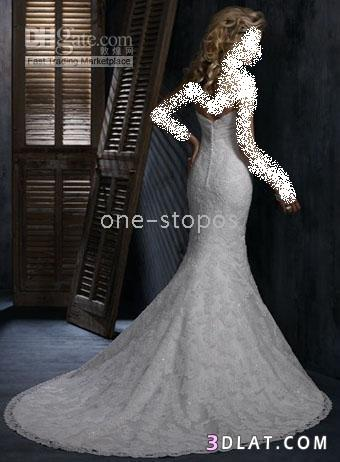 فساتين زفاف قمه الاناقه