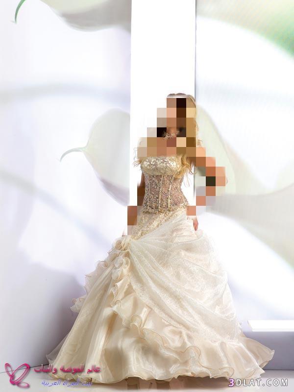 فساتين زفاف انيقه