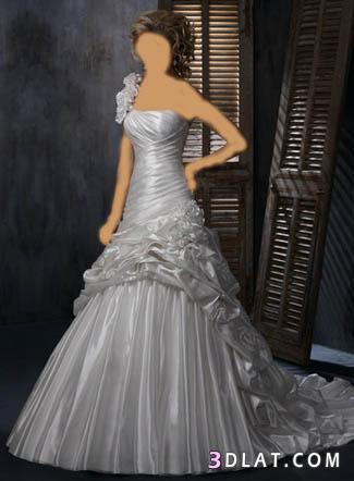 اجمل فساتين الزفاف