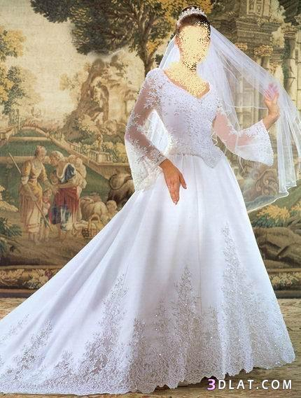 فساتين زفاف حلوووة