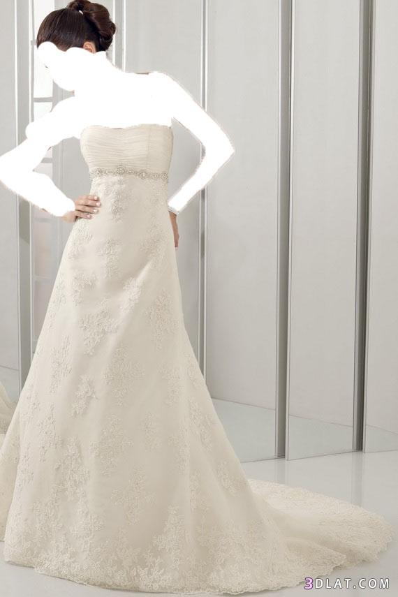 فساتين زفاف بسيطة