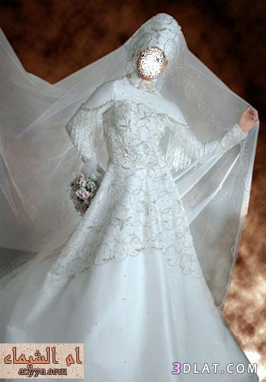 فساتين زفاف 2012 للمحجبات