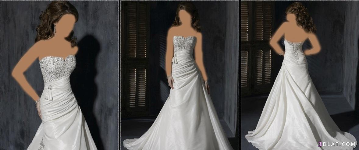 فساتين زفاف تحفة