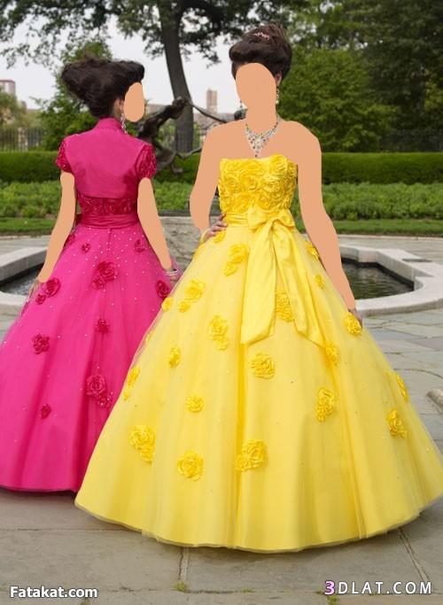 فساتين زواج 2021  منفوشه للعروسه الدندوشه