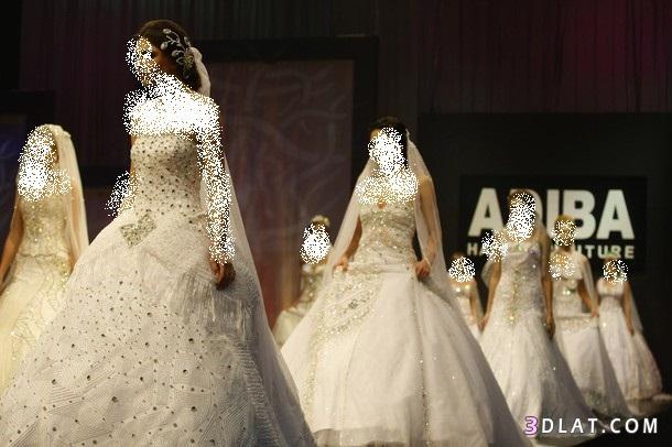 فساتين زفاف من تصميم اديبا محبوب
