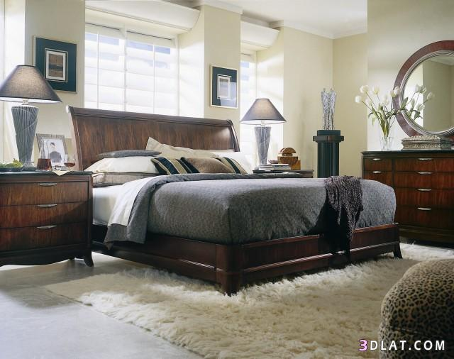غرف نوم حديثة من الخشب   توتى 1