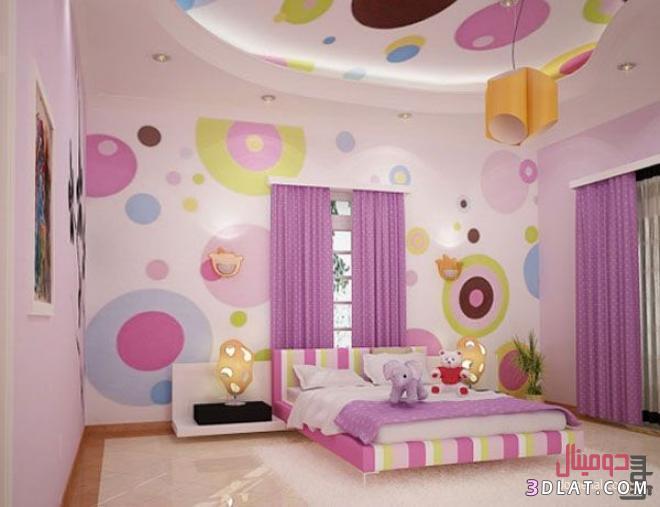 ديكورات غرف نوم للأطفال   لؤلؤة الايمان
