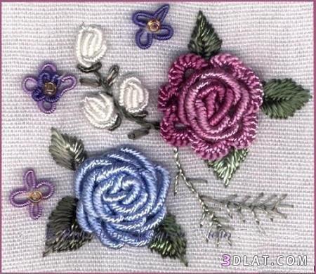 Вышивка бисером по вязаному полотну - Вязание крючком 1