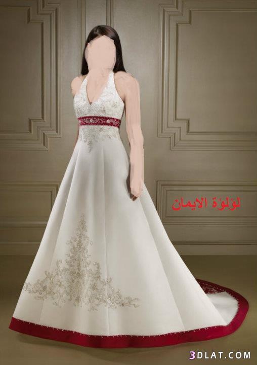 فساتين زفاف  منوعة للعرائس الحلوين
