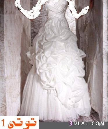 فساتين زفاف 2021  - فساتين افراح طونى ورد