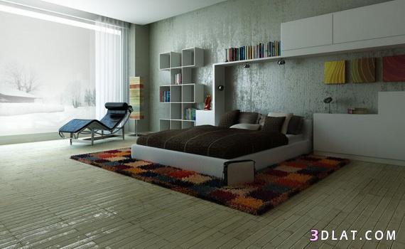 غرف نوم مودرن 2014, غرف نوم موضة 2015, تصاميم غرف نوم حديثة 2016