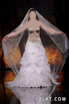 كوني كالاميره يوم زفافك..فساتين افراح