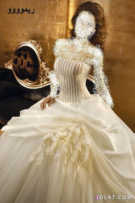 فساتين زفاف مميزه 2021 - فساتين زفاف انيقه ورقيقه