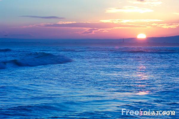 أجمـل صور للبحر في مرآحل الشروق والغروب من تجميعي