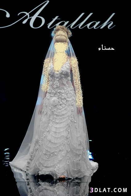 فساتين زفاف 2021   فساتين عروس 2021 للمصمم وليد عطالله