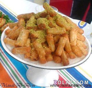 اصابع البقلاوة اشهى حلويات رمضان