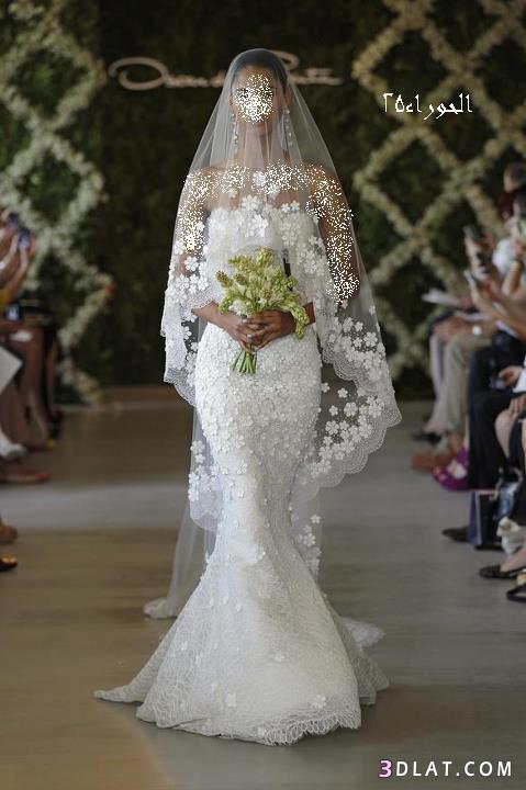 فساتين زفاف 2021 .....