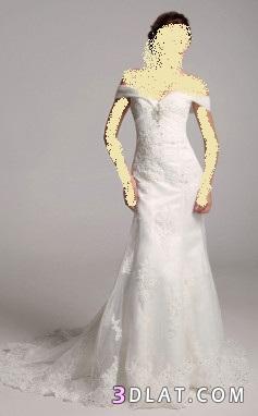 فساتين زفاف 2021  حديثة رقيقة وجميلة