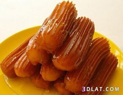 بلح الشام حلويات رمضانية طريقة عمل بلح الشام المصري مقرمش بالصور