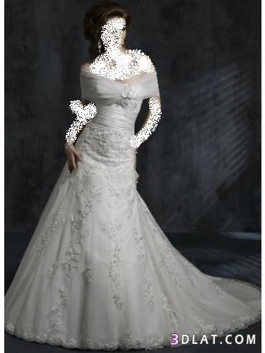 فساتين زفاف 2021  جميله