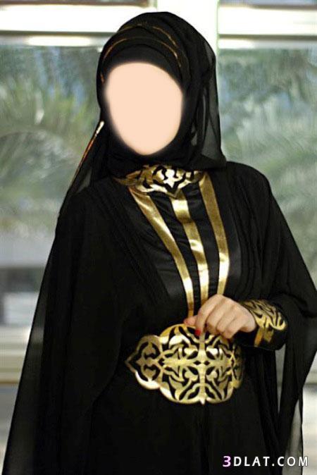 عبايات 2019-2019 للمحجبات عبايات سوداء بتطريز 13438391574.jpg