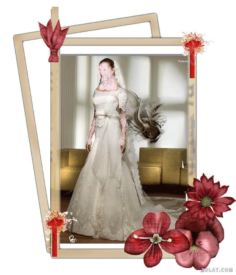 فساتين زفاف 2021  وطرحاتهم - طرحات زفاف مميزه جديده - فساتين زفاف 2021  مع الطرحة