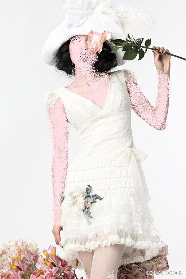 فساتين زفاف 2021  قصيره  -فساتين عرس زفاف 2021  قصيرة - فساتين زواج قصيره وجديدة