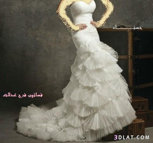 أحلى فساتين عرس زفاف 2021  لأحلى عرائس الجزائر - فساتين زفاف 2021  للمسابقة