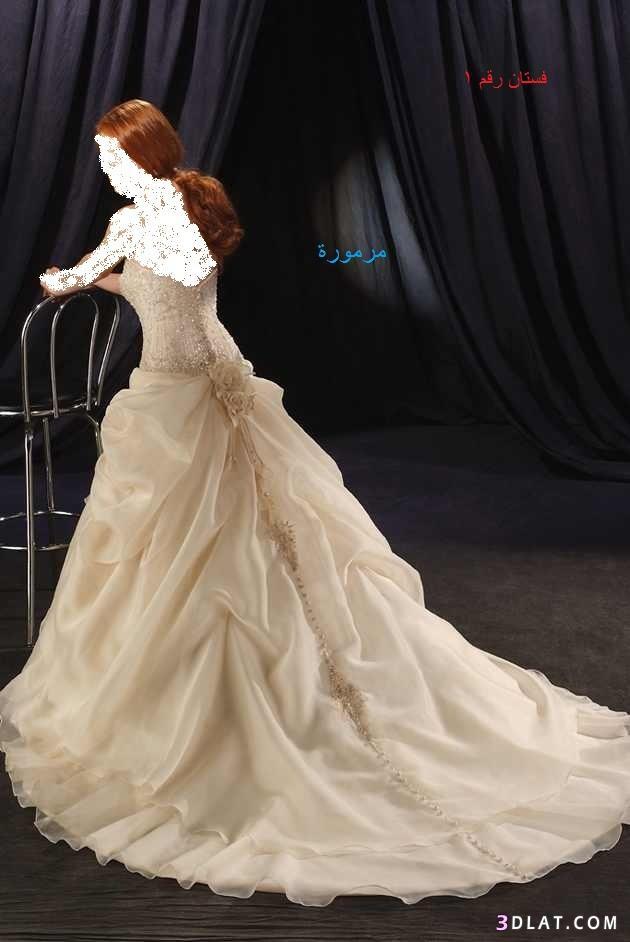اجمل فساتين الزفاف (مشاركتى في المسابقه)