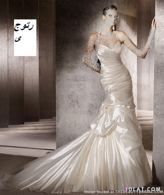 فساتين زفاف رقيقة 2021